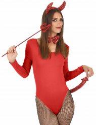 Djävulskit med rödapaljetter - Halloweentillbehör
