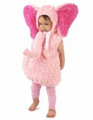 Bedårande rosa elefant - Maskeraddräkt för barn