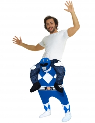 Superstark blå Power Ranger™ från Morphsuits™