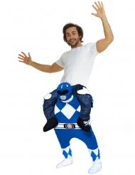 Superstark blå Power Ranger™ från Morphsuits™