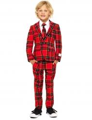 Mr. Tartan kostym i rött för barn - Opposuits™