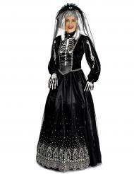 Svarta änkan - Halloweenkostym för vuxna