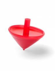 Röd snurra 3,5 cm