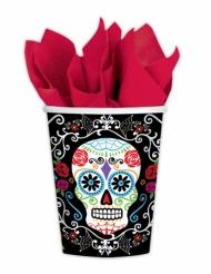 10 muggar i Dia de los Muertos-tema - Halloweenpynt