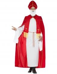 Lyxig Saint Nicolas dräkt för vuxna