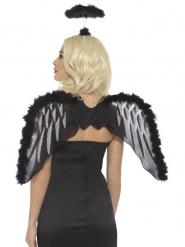 Fallen ängel - Tillbehörskit till Halloween för vuxna