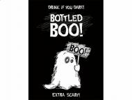 10 etiketter till flaskan med sött spöke - Halloweendekoration