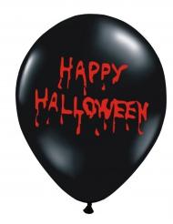 6 Happy Halloween blodiga ballonger 30 cm