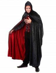 Lyxig dubbelsidig vampyrmantel för vuxna till Halloween