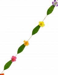 Hawaiigirland med blommor i många färger 1,8 m