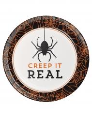 Creep it real - 8 Kartongtallriar till Halloween