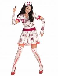 Zombie sjuksyrra - Halloweenkläder för vuxna