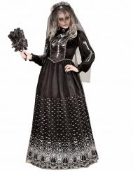 Skelettbrud - Halloweenkläder för vuxna