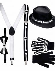 Herr Skelett - Halloweenkit för vuxna