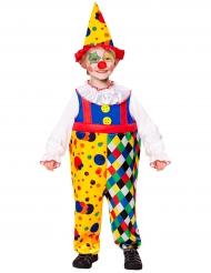 Clownen Gladfärg - Maskeradkläder för barn