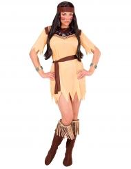 Stammens prinsessa - Maskeraddräkt för vuxna