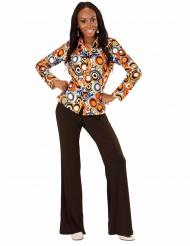 Grooviga Grace - Skjorta för vuxna till discot