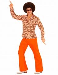 Groovy discoskjorta till festen för vuxna