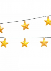 Girlang med stjärnformade lampor 250 cm