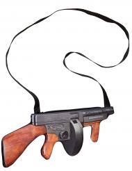 Maskingevärsformad handväska