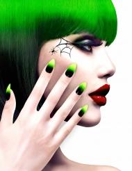 Radioaktiv - Lösnaglar för vuxna till Halloween