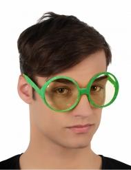 Runda glasögon med paljetter för vuxna