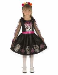 Dödskalleklänning barn