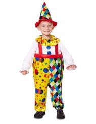 Clownen Färgglad - Maskeradkläder för barn