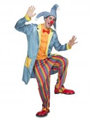 Clownen Dusty - Maskeradkläder för vuxna
