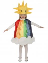 Magisk regnbåge - Maskeraddräkt för barn