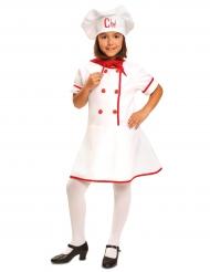 Mästerkockens klänning - Maskeraddräkt för barn