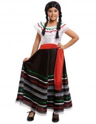Klänning med inspiration från Mexiko - Maskeraddräkt för barn