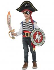 Piratdräkt med tillbehör barn