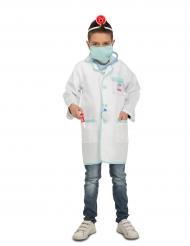 Doktorsdräkt för barn med tillhörande tillbehör