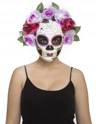 De dödas dag pastellmask vuxen