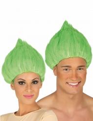 Grön trollperuk vuxen
