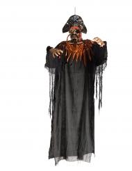 Läskig lysande pirat - Halloweenpynt 170 cm