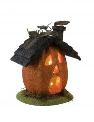 Pumpahus - Lysande Halloweendekoration 23 cm