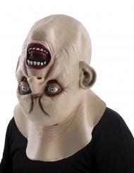 Upp och nervänd monstermask för vuxna - Halloween masker