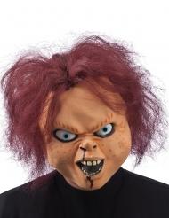 Skräckdocka - Halloweenmask för vuxna
