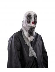Kusligt spöke - Halloweenmask för vuxna