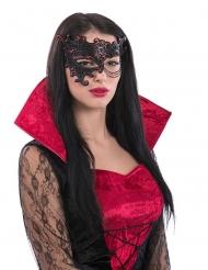 Ögonmask med kedja - Halloweenmask för vuxna