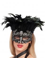 Fjäderfä - Mask till Halloween för vuxna