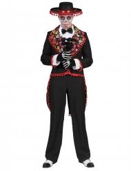 Gentleman -Dia de los Muertosdräkt till Halloween