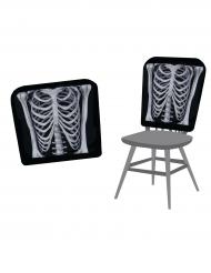 Skelett - Stolklädsel till Halloween 38 x 48 cm