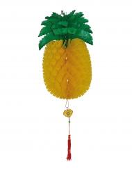 Dekorativ ananas i dragspelspapper - Festdekor