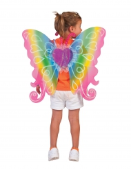 Färgglada hjärtvingar 60x54 cm