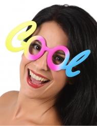Cool - Pastellfärgade glasögon för vuxna till festen
