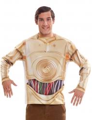 C-3PO t-shirt från Star Wars™ för vuxna