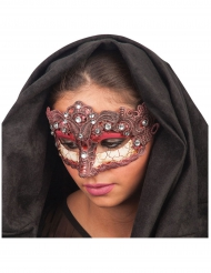 Ögonmask med detaljer i band för vuxna